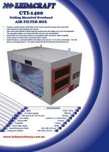 CTI 1400 Air Filters