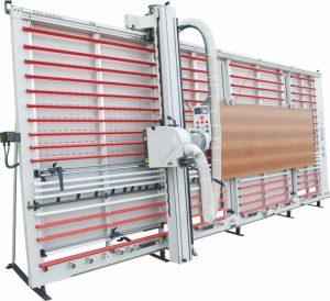 semi automatic vertical panel saw machine