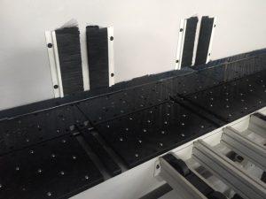 finger cutouts in rear air table